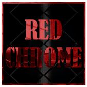 Red Chrome CM11 AOKP Theme