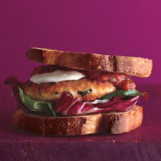 Chicken Parmesan Burgers Recipe