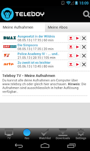 Teleboy TV - screenshot thumbnail
