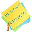 Hidden Note icon
