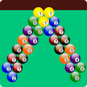 bubble shooter billiards game icon