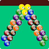 bubble shooter billiards game