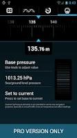 Screenshot of SyPressure (Barometer)