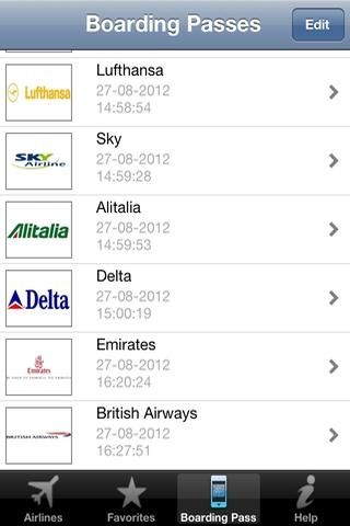 Airline Flight Check-In Free- screenshot