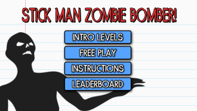 Stick Man Zombie Bomber apk screenshot