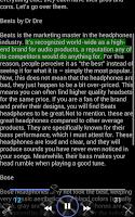 Screenshot of The Reader Text-to-Speech App