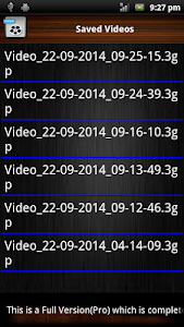 Audio and Video Recorder Lite screenshot 5