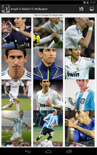 Angel Di María FC Wallpaper