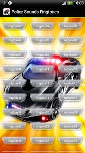 Police Sounds Ringtones - screenshot thumbnail