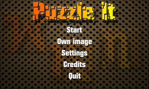 Puzzle It Sliding Puzzle