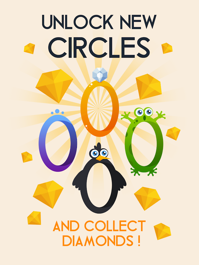 Screenshots of Circle for iPhone