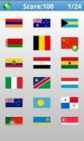 Screenshot of Nation Flag Logo Quiz