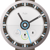 Pujie Blue - Wear Watch Face