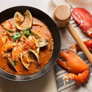 Catalan Stew with Lobster and Clams