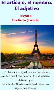 French course- screenshot thumbnail