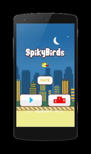 Spiky Birds