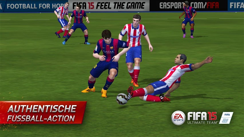 android FIFA 15 Ultimate Team Screenshot 4