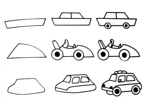 Learn To Draw Cartoon Cars