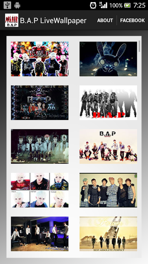 B.A.P Live Wallpaper - screenshot