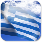 3D Greece Flag Live Wallpaper+