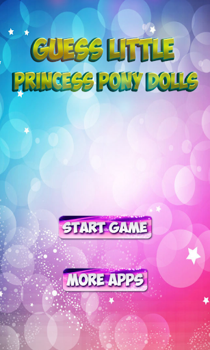 Guess Little Princess Pony