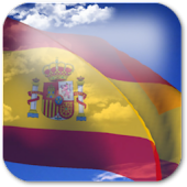 3D Spain Flag Live Wallpaper +