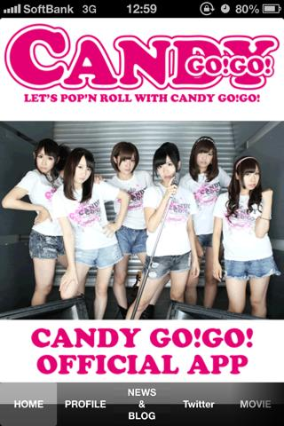 CANDY GO GO OFFICIAL APP