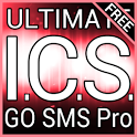 Red ICS GO SMS Theme icon