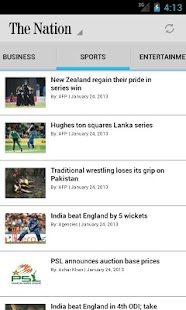 The Nation Pakistan - screenshot thumbnail