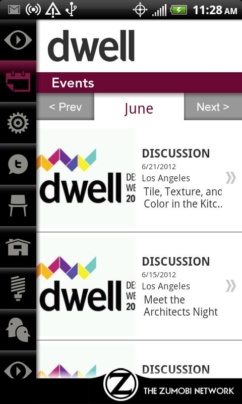 Dwell - screenshot