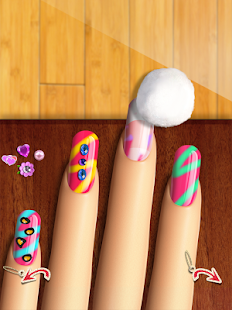 More Nails: Mani Makeup Games 休閒 App-愛順發玩APP
