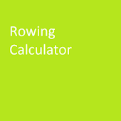 Rowing Split Calculator