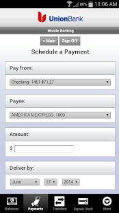 Union Bank Mobile Banking - screenshot thumbnail