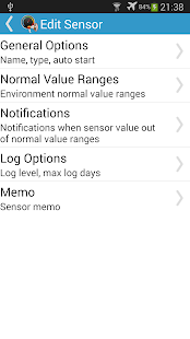 Sensor Monitor- screenshot thumbnail