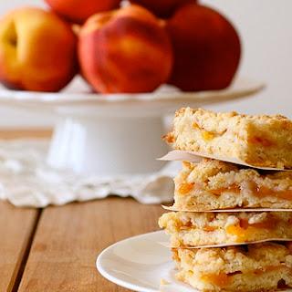 Peach Crumb Bars