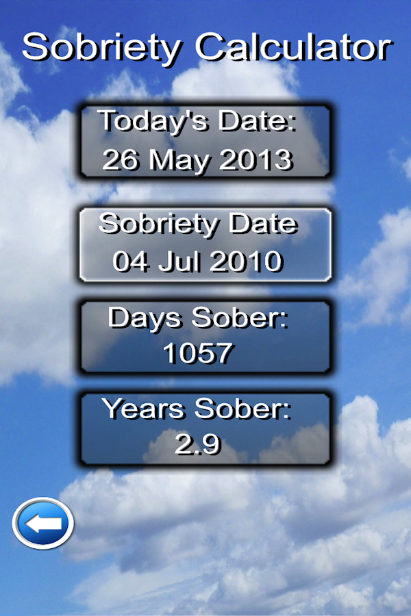 Daily Recovery App- screenshot