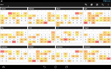 Business Calendar Pro Screenshot 12