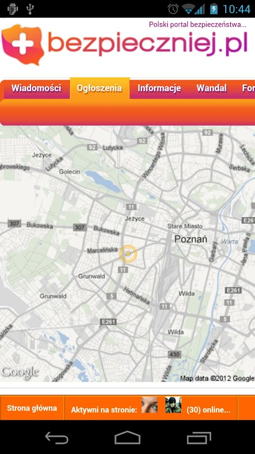 Bezpieczny Lokalizator 3.5- screenshot