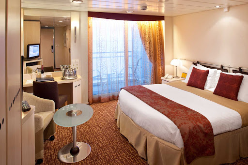 Celebrity_Constellation_AccessibleOceanView - Wake up to admire the view from your private balcony while sailing on Celebrity Constellation.