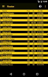 Hawkeye Football Schedule Screenshot 8