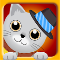 Pet game - Train your cat icon