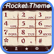 RocketDial Brown Theme 2.0 Icon