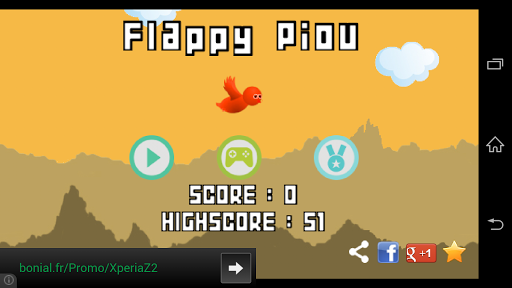 Flappy Piou 2.3 screenshots 1