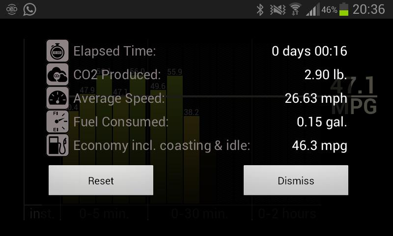 Fuel Economy for Torque Pro - screenshot