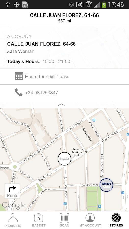 Zara - screenshot