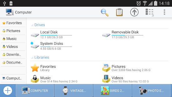 Computer File Explorer Screenshot