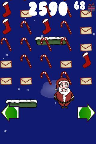 Doodle Santa - Christmas Jump - screenshot