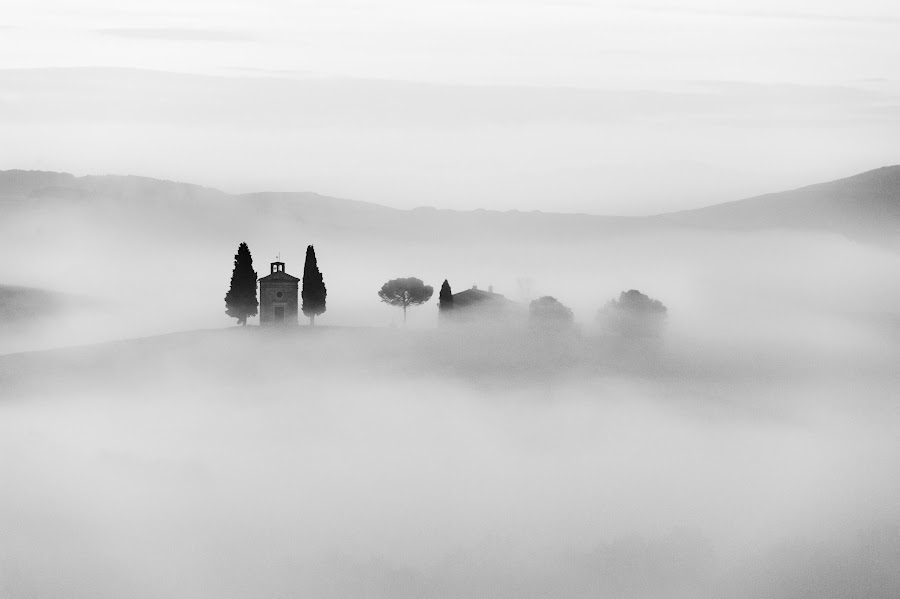 Lost by Marco Carotenuto - Landscapes Mountains & Hills ( hills, nature, fog, minimal, landscape,  )