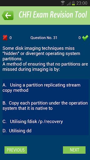 CHFI Exam Revision Tool