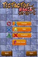 Screenshot of Tic Tac Toe Mania Full Version
